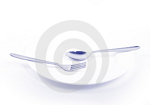Dinner Plate Royalty Free Stock Photo - Image: 14653615