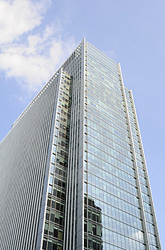 Vertical Buildings With Blue Sky In Background Royalty Free Stock Photos - Image: 14653668