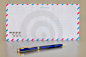 Airmail Envelope Stock Photography - Image: 14654882
