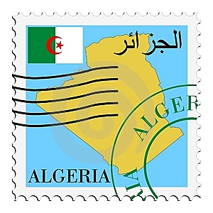 Mail To/from Algeria Stock Images - Image: 14656134