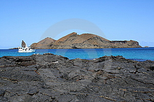 Boat In Galapgos Royalty Free Stock Photo - Image: 14658715
