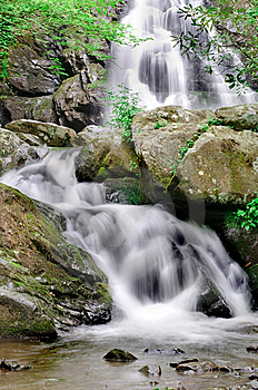 Spruce Flats Falls Royalty Free Stock Photos - Image: 14659558