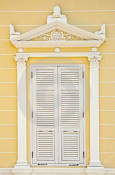 Europe Style Window Stock Images - Image: 14659684