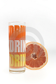 Grapefruit Juice In The Glass Stock Photos - Image: 14660123