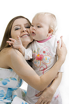 Mother And Daughter. Stock Photos - Image: 14661803