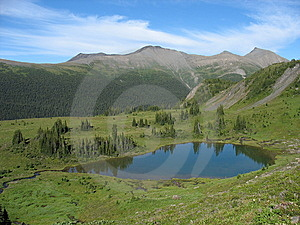 Alpine Lake Royalty Free Stock Photography - Image: 14664287