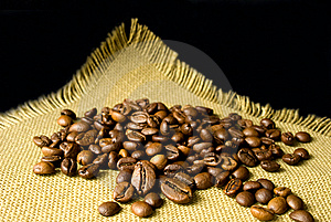 Many Coffee Beans Stock Photography - Image: 14664542