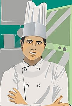 The Chef Royalty Free Stock Photo - Image: 14665605