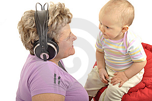 Grandmother With Baby Royalty Free Stock Photos - Image: 14667308