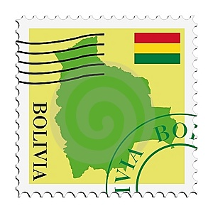 Mail To/from Bolivia Stock Image - Image: 14668891