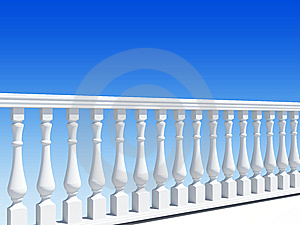 Balustrade Royalty Free Stock Photo - Image: 14669825