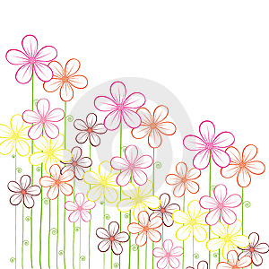 Abstract  Floral Background Stock Photo - Image: 14669990