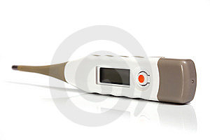 Electronic Thermometer Stock Photo - Image: 14670060