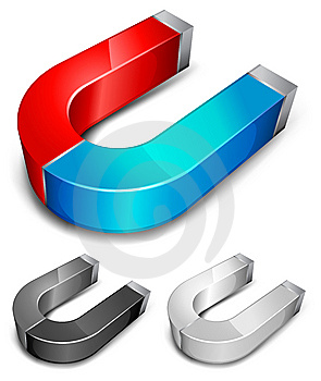 Magnets Royalty Free Stock Images - Image: 14670289