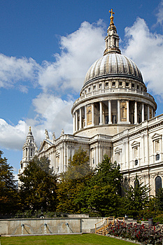 Saint Paul's Cathedral In London Stock Images - Image: 14670604