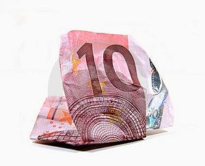 Wrinkled Money Stock Photo - Image: 14670750