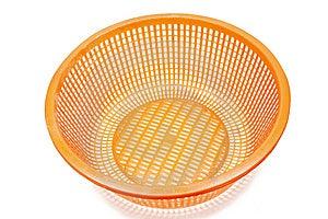 Plastic Basket Stock Photography - Image: 14671292