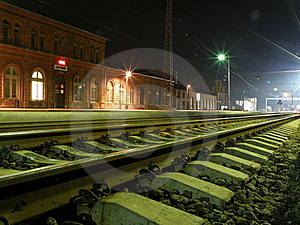 Rail Station Royalty Free Stock Photo - Image: 14671335