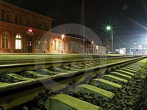 Rail Station Royalty Free Stock Photo - Image: 14671335
