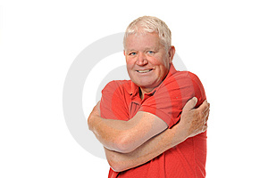Senior Retired Man Stretching Stock Images - Image: 14671884