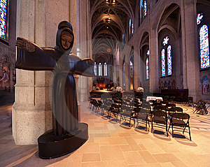 Grace Cathedral Stock Image - Image: 14673771