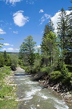 Mountainous River Royalty Free Stock Photo - Image: 14674395