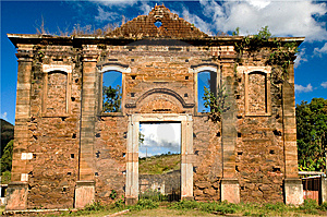 Our Lady Of Conception Church Ruins Royalty Free Stock Image - Image: 14674536