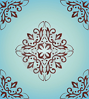 Classical Pattern A Seamless Royalty Free Stock Photos - Image: 14674938