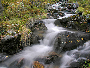 Beautiful Mountain Stream Stock Photo - Image: 14674940
