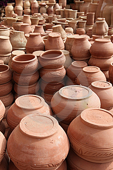 Traditional Pot Clays Royalty Free Stock Photo - Image: 14675215