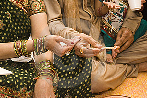 Indian Tradition Royalty Free Stock Images - Image: 14676429