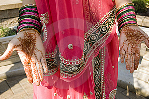 Henna On Hand Stock Images - Image: 14676464