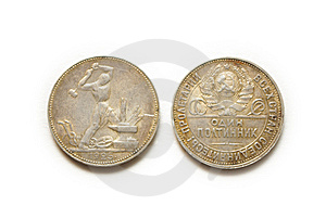 Silver Coin Stock Photography - Image: 14676582