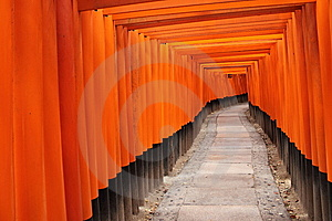 Tora Of Fushimi Inari Taisha Shrine Stock Photography - Image: 14677512