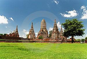 Chai Watthanaram Temple,Ayutthaya,T Royalty Free Stock Photos - Image: 14677618