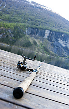 Fishing Gear On Jetty Royalty Free Stock Image - Image: 14677776
