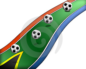Football South Africa 7 Royalty Free Stock Photos - Image: 14678058