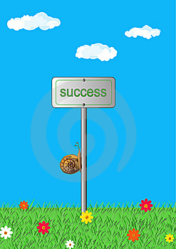 Slow Movement To Success, Concept Stock Photo - Image: 14678710