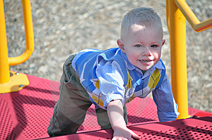 Smiling Young Boy Royalty Free Stock Image - Image: 14680206