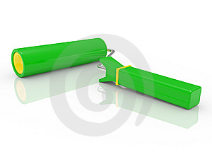 Roller Brush With Paint Royalty Free Stock Photo - Image: 14680445