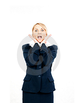 Happy Businesswoman Stock Photography - Image: 14680492