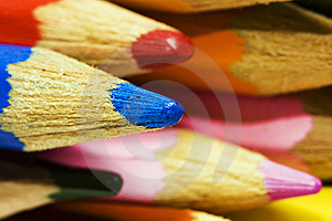 Colour Pencils Stock Photo - Image: 14680940