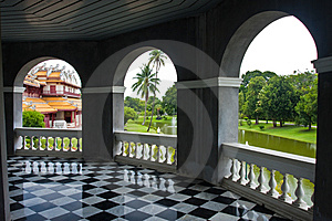 Bang Pa-in Palace Stock Image - Image: 14684241