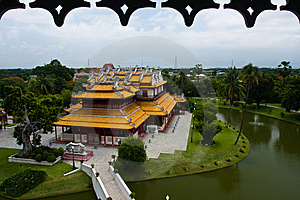 Bang Pa-in Palace Royalty Free Stock Image - Image: 14684266