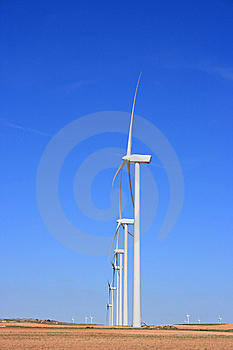 Wind Turbines Stock Image - Image: 14686811