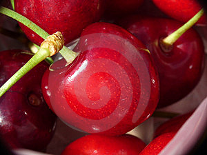 Cherries Closeup Royalty Free Stock Images - Image: 14688299