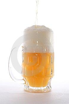 Mug With Beer Stock Image - Image: 14688901