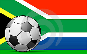 South African Football Stock Image - Image: 14689101