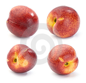 Nectarines, Set Of Images Royalty Free Stock Images - Image: 14689199