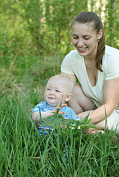 Mother With Baby Royalty Free Stock Image - Image: 14689246